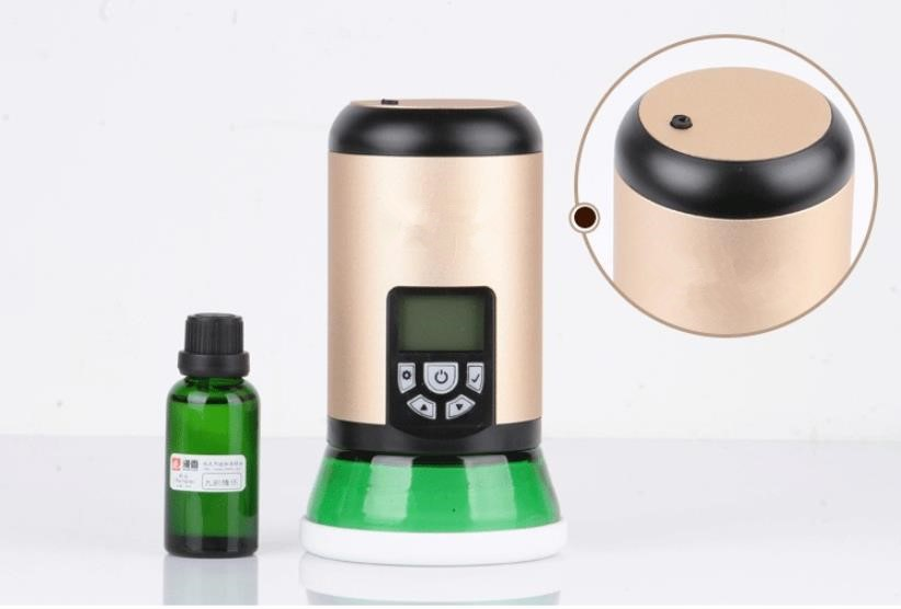 Room Scent Diffuser Automatic Scent Diffuser Essential Oils Purification 100ml 80cbm Coverage Mini Scent Air Machine for Hotel