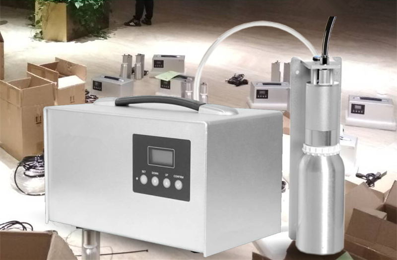 Aroma Essential Oil Atomization Machine HVAC Hotel Scent Diffuser System 500ml Scent Machine Large Area Cold Scent Diffusion Machine
