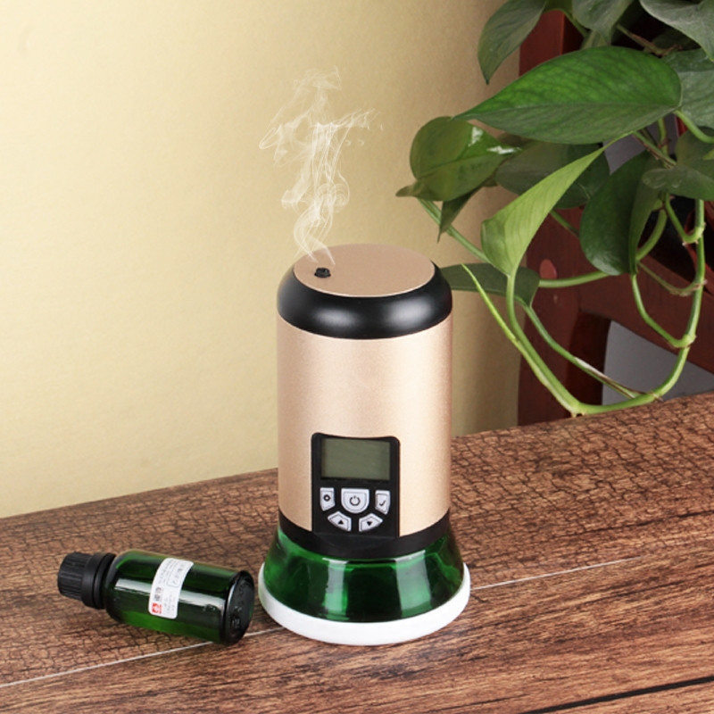 Mini Scent Diffuser System Home Air Purifier USB Charger Electric Aroma Diffuser Waterless Essential Oil Diffuser