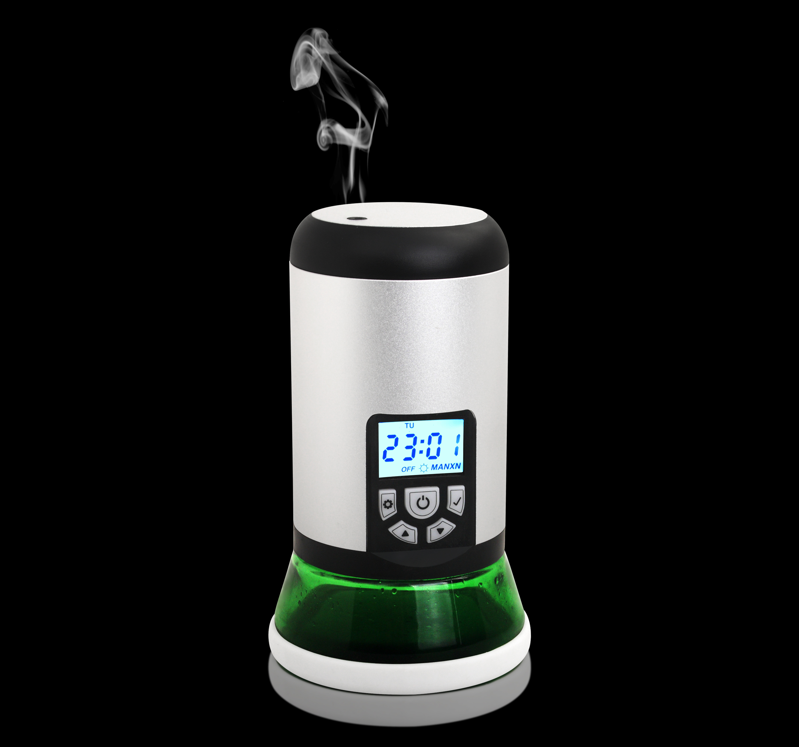 Intelligent Aroma Diffuser Stainless Steel Automatic Aerosol Diffuser Machine Household Perfume Fragrance Diffuser Hotel Lobby Bar Club Toilet