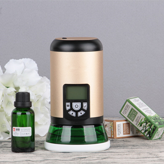 Mini Aroma Diffuser 100ml Air Humidifier Small Essential Oil Diffuser Car Aroma Purifier