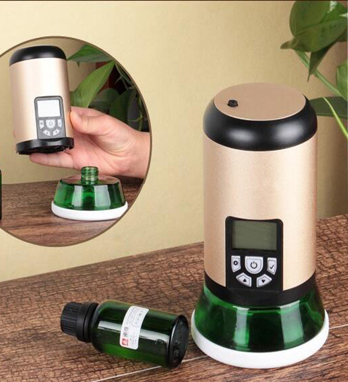 Car Air Freshener Small Fragrance Diffuser Machine Ultrasonic Cold Mist Technology Electric Aroma Air Diffuser